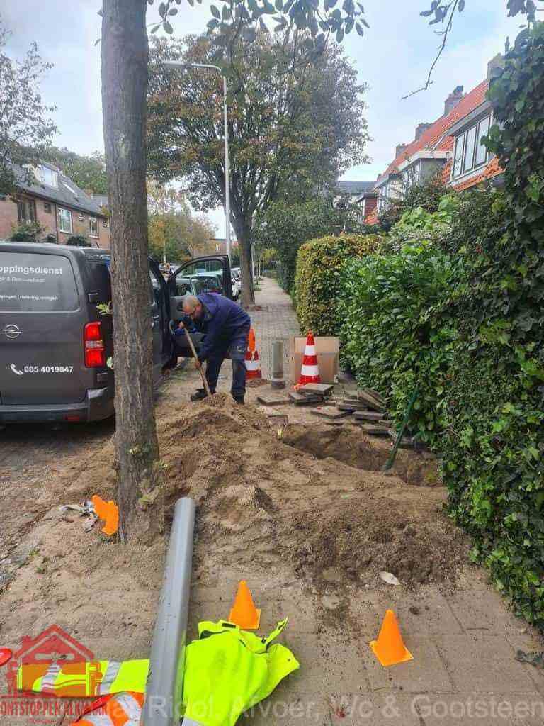 Graven riool Alkmaar