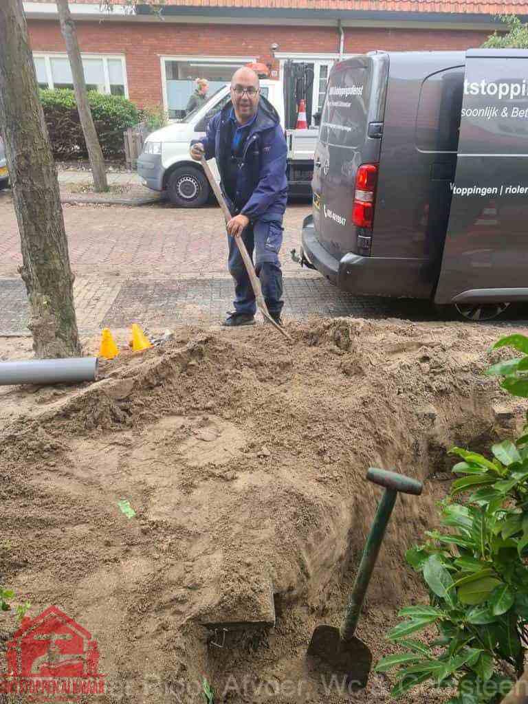 Riool ontstoppen Alkmaar graven